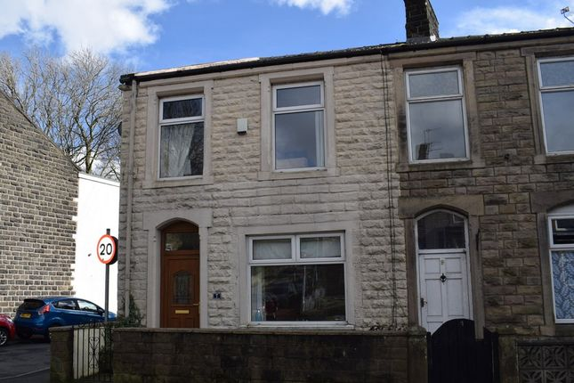 Thumbnail End terrace house for sale in Blackburn Road, Padiham, Burnley