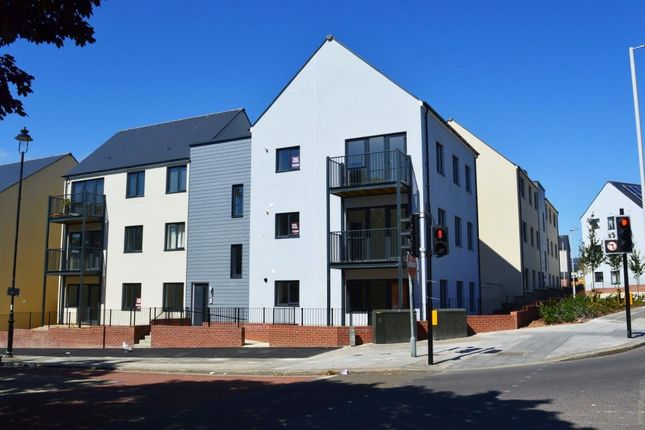 Thumbnail Flat to rent in Granby Way, Plymouth, Devon