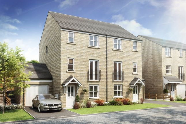 """4 bed town house for sale in """"The Cragside (Split Level)"""" at Brackendale Way, Thackley, Bradford BD10"""