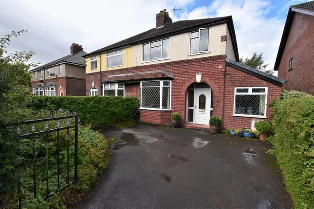Thumbnail Semi-detached house to rent in Moss Road, Congleton