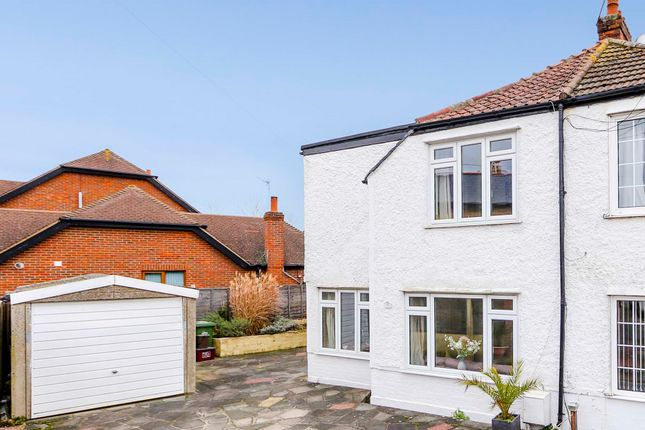Thumbnail Semi-detached house for sale in Corbylands Road, Sidcup