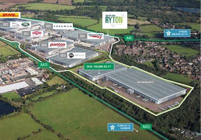 Thumbnail Land for sale in Prologis Ryton - DC8, Oxford Road, Coventry, West Midlands