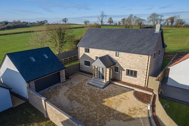 Thumbnail Detached house for sale in Old Nursery Drive, Ashcott, Bridgwater