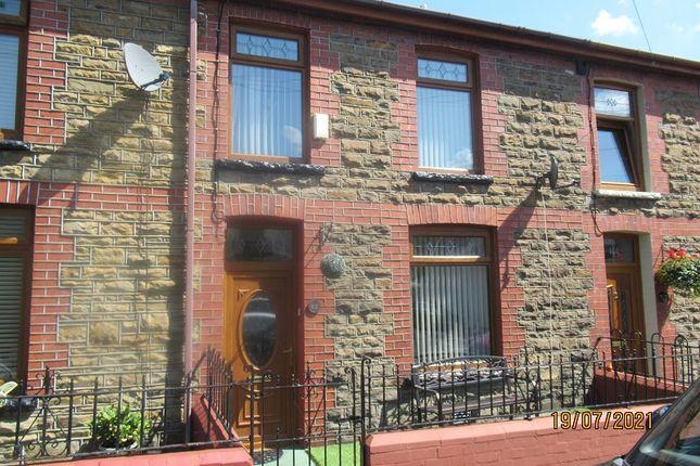 Thumbnail Terraced house for sale in Dyfodwg Street, Treorchy, Rhondda Cynon Taff.