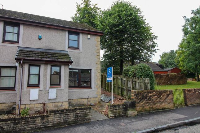 Thumbnail End terrace house to rent in Thornhill Road, Falkirk
