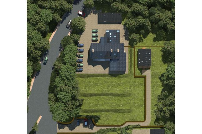 Site Aerial of The Ossians, Kincraig, Kingussie PH21