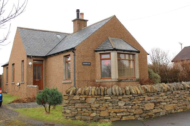 Thumbnail Detached bungalow for sale in Weyland Bay, St Ola, Orkney