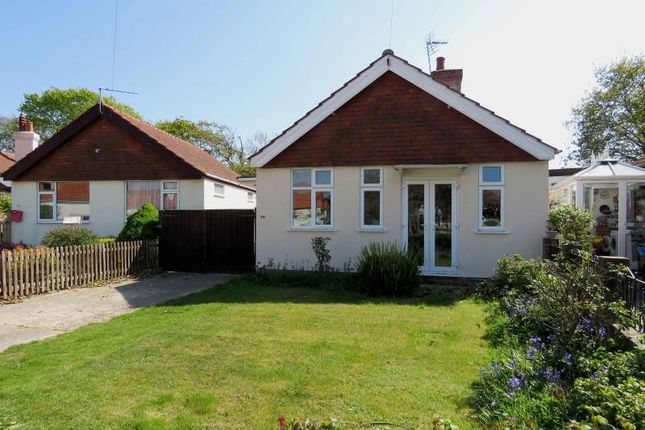 Thumbnail Detached bungalow for sale in North Crescent, Hayling Island