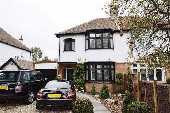 Thumbnail Semi-detached house for sale in Kenilworth Gardens, Westcliff-On-Sea, Essex