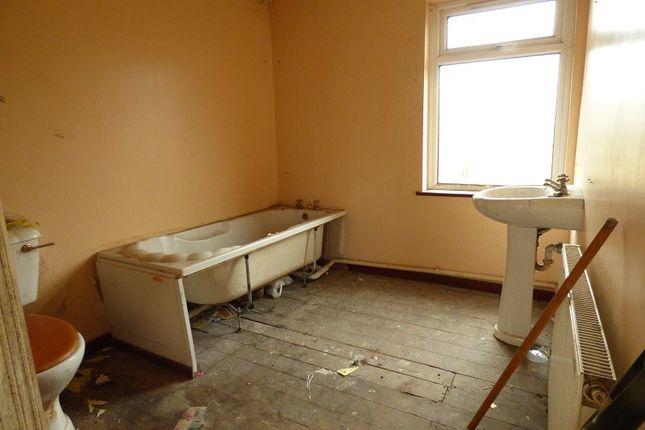 Bathroom of Sychbant Avenue, Maesteg, Bridgend. CF34