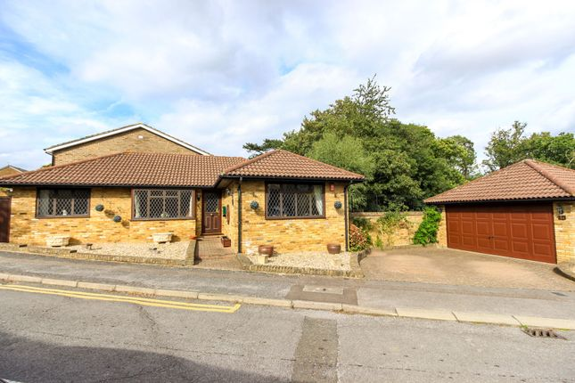 Thumbnail Detached bungalow for sale in The Spinney, Broxbourne
