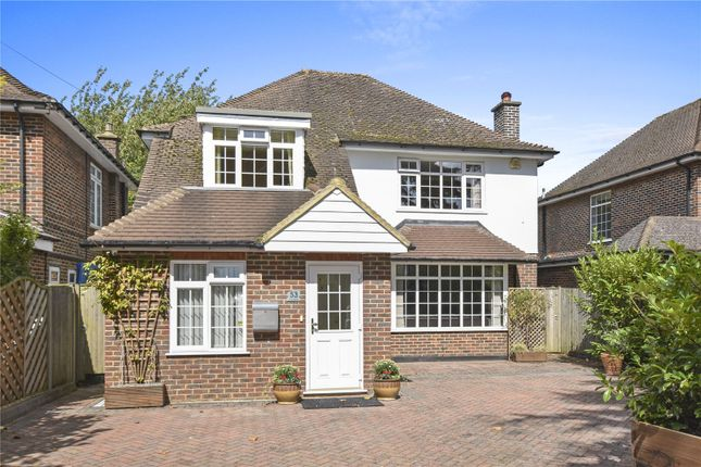 Thumbnail Detached house for sale in The Drive, Wallington
