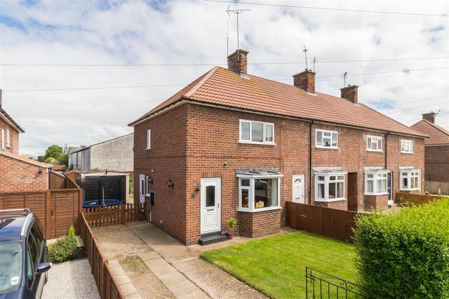 Thumbnail End terrace house for sale in 19 Eastfield Avenue, Norton, Malton