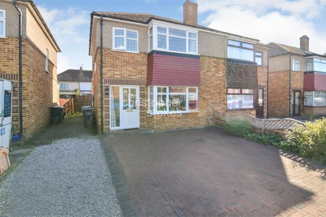 Thumbnail Semi-detached house for sale in Gloucester Avenue, Waltham Cross, Hertfordshire