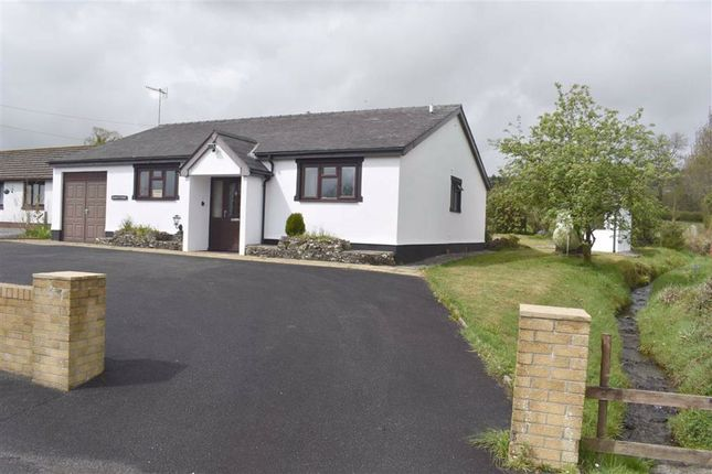 2 bed detached bungalow for sale in Llanwenog, Llanybydder SA40