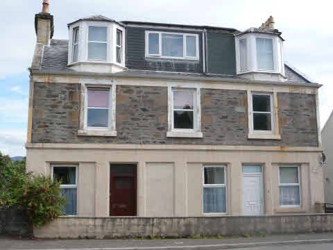 Thumbnail Flat for sale in Flat 1/2, 70, Ardbeg Road, Rothesay, Isle Of Bute