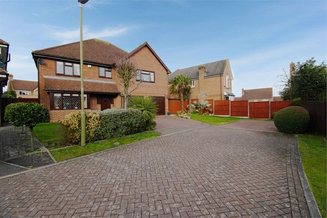 Thumbnail Detached house for sale in Richardson Crescent, Cheshunt, Waltham Cross, Hertfordshire