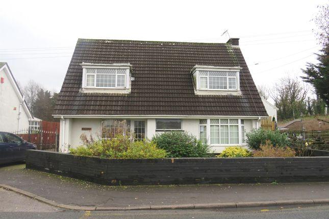 Thumbnail Detached bungalow for sale in Hillside, Mwyndy, Pontyclun
