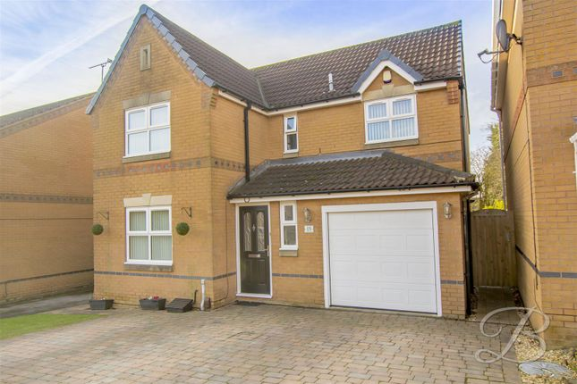 Thumbnail Detached house for sale in Grafton Close, Sutton-In-Ashfield