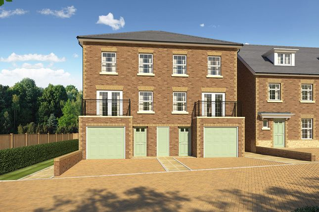 "Thumbnail Semi-detached house for sale in ""Fitzroy Semi"" at James Whatman Way, Maidstone"