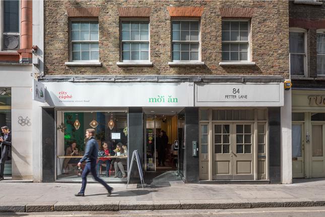 Thumbnail Retail premises for sale in Fetter Lane, London