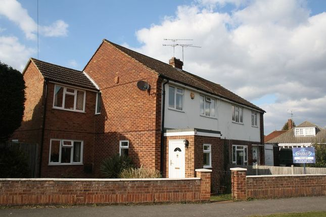 Thumbnail Semi-detached house to rent in Norton Road, Woodley, Reading