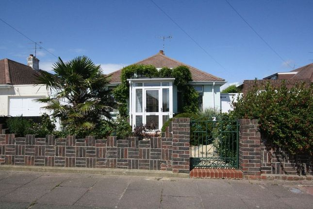 Thumbnail Bungalow for sale in Keymer Crescent, Goring-By-Sea, Worthing
