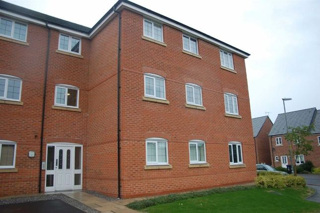 Thumbnail Flat to rent in Reedmace Walk, Newcastle-Under-Lyme