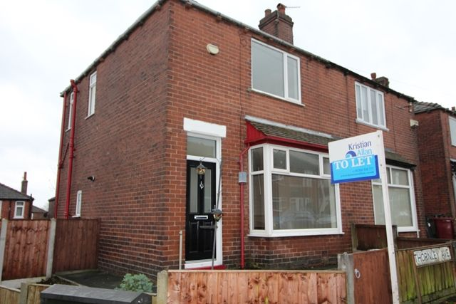 Thumbnail Semi-detached house to rent in Thornley Avenue, Bolton