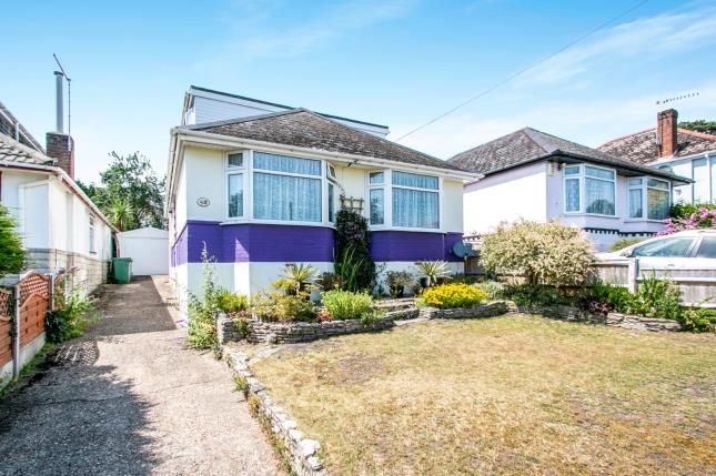 Front of Connaught Crescent, Parkstone, Poole BH12