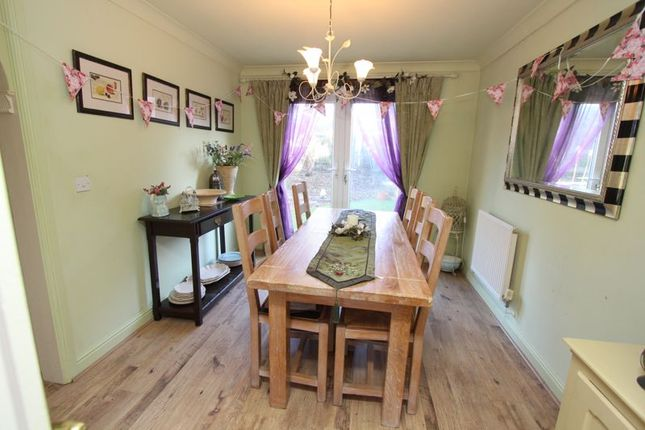 Dining Room of Maes Y Gwenyn, Rhoose, Barry CF62