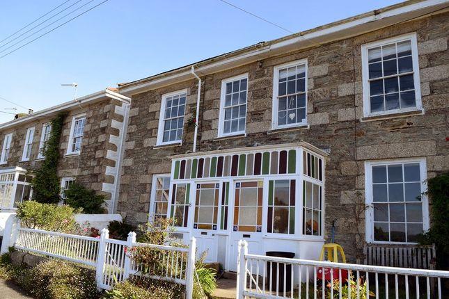 Thumbnail End terrace house to rent in St. Johns Terrace, Devoran, Truro