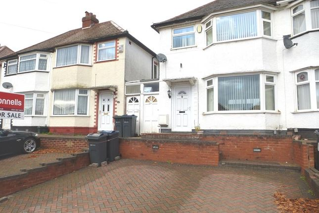 Thumbnail Semi-detached house for sale in Derrydown Road, Perry Barr, Birmingham