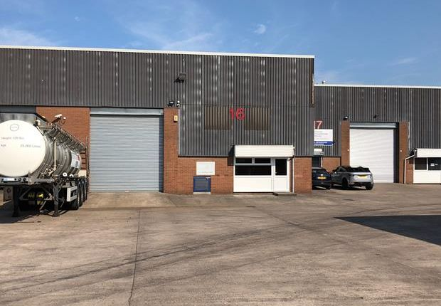 Thumbnail Light industrial to let in Unit 16 Third Avenue, Crewe Gates Industrial Estate, Crewe, Cheshire