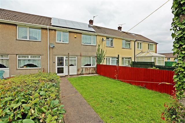 Thumbnail Terraced house for sale in Manor Court, Church Village, Pontypridd