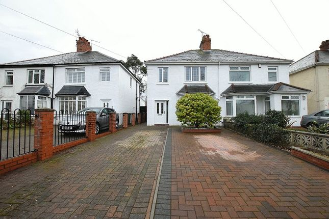 Thumbnail Semi-detached house for sale in Pantbach Road, Rhiwbina, Cardiff.