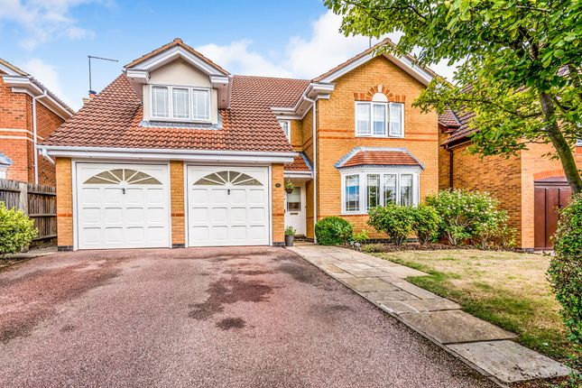Thumbnail Detached house for sale in Lexden Close, Wootton, Northampton