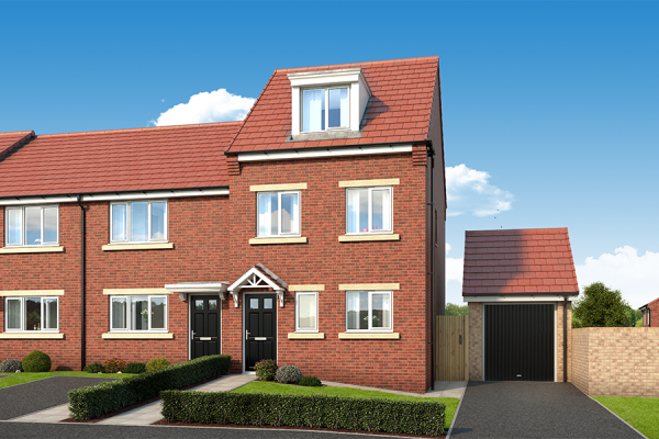 "Thumbnail Property for sale in ""The Sycamore At The Garth, West Denton"" at Dunblane Crescent, West Denton, Newcastle Upon Tyne"