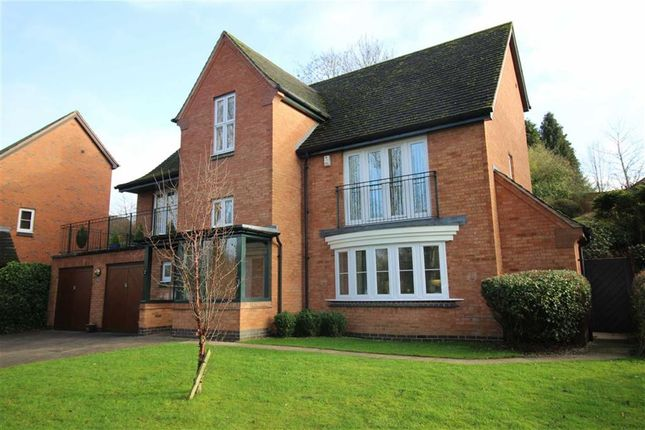 Thumbnail Detached house for sale in Merion Grove, Littleover, Derby