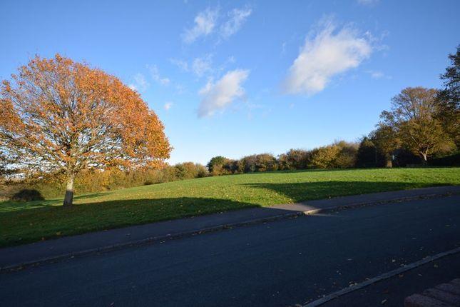 Front Views of Elgar Crescent, Llanrumney, Cardiff CF3