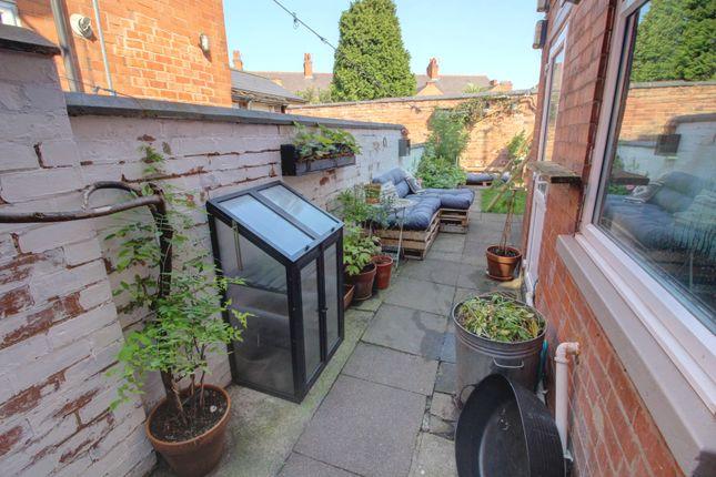 Rear Garden of Bonchurch Street, Leicester LE3