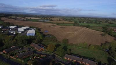 Thumbnail Commercial property for sale in Land At Ellesmere Business Park, Ellesmere Business Park, Oswestry Road, Phase II, Ellesmere, Shropshire