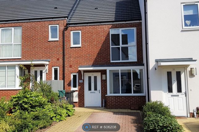 Thumbnail Terraced house to rent in Comet Avenue, Newcastle Under Lyme