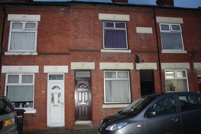 Thumbnail Terraced house to rent in Surrey Street, Leicester