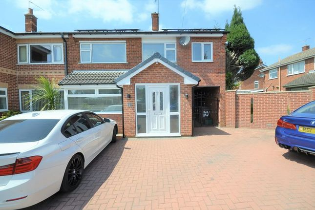 Thumbnail Semi-detached house for sale in 10 Holmefield Close, Doncaster