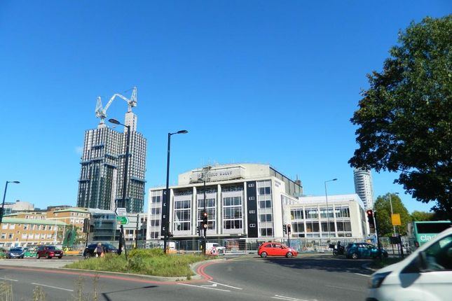 Town Centre And New Fairfield Halls