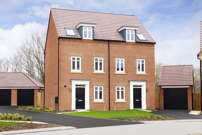 """Thumbnail Semi-detached house for sale in """"Greenwood"""" at South Road, Durham"""