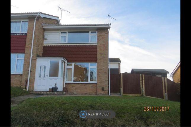 Thumbnail Semi-detached house to rent in Keswick Avenue, Sittingbourne