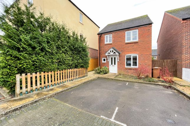 Thumbnail Detached house to rent in Bramble Walk, Barley Road, Andover, Hampshire