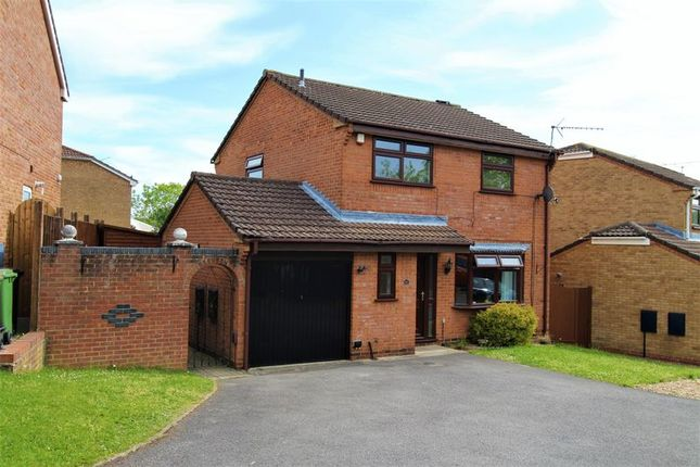 Thumbnail Detached house for sale in Downscroft Gardens, Hedge End, Southampton